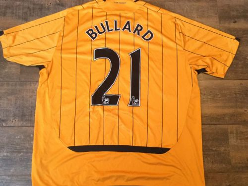 2009 2010 Hull City Bullard Home Football Shirt 3XL XXXL